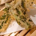 天ぷらバル 慶 - 菜の花