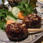 青いパパイヤ - レモングラス牛肉包み