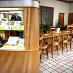 谷口今川焼店 - 店内です