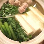 壱 - 鶏団子鍋