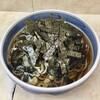 立ち食いそば はせ川 - 料理写真:花巻そば420円+かき揚げ100円