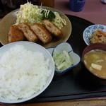 お食事処 藤 - 料理写真:メンチカツ定食