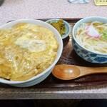 吉野屋 - 親子丼セット