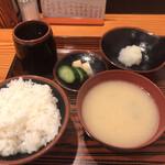 天富 - 天ぷら定食