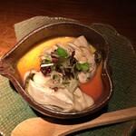 127692261 - 糸島牡蠣の茶わん蒸し