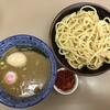 庵悟 - 料理写真:・辛つけめん 900円 ・味玉 100円