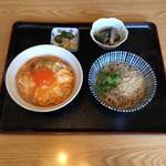 お食事処 中重 - 究極のふわとろ親子丼定食 ¥900