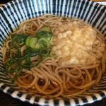 お食事処 中重 - 定食のミニ蕎麦