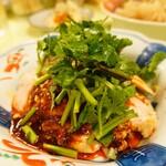 Yakitoriosen daisansei - 四川風よだれ鶏 ハーフ