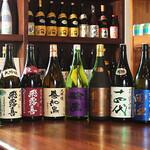 大人の隠れ家ああばん - 日本酒集合