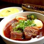 小樽アバンティ - 料理写真:当店の一番人気! ゴマ風味中華風スープカレー
