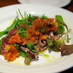 千年葡萄家 - カツオの料理(名前忘れました・・・)