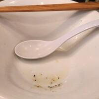 麺や 河野-塩らーめん(大 250g)790円 完食汁完飲