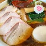 127705579 - 焼豚ワンタン麺味玉入り しょうが醤油味 1230円