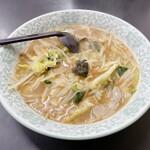 光楽 - サンマー麺