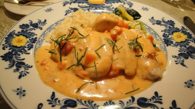 ル・ジャルダン・デ・サヴール - 主菜の鶏肉