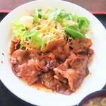 てっ平食堂 - 焼き肉定食 メイン