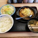 松屋 - 料理写真:ダブルチーズカチャドーラ定食