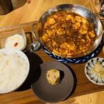 127713844 - 麻婆豆腐定食