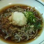 茶子溜り - ソースカツ丼セットの若狭名物おろし蕎麦