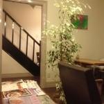 さるぅ屋カフェ チャモン - 洋館的要素② 2Fにも行ってみたいな♪