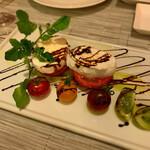 ディディ グランデ - アメーラトマトのカプレーゼ