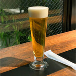ディディ グランデ - お店でオーダーしてビール飲みつつ待つのも乙。