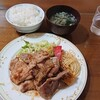 もりもり - 料理写真:この日のランチは生姜焼き