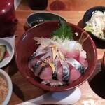 とろさば料理専門店 SABAR - さば丼1000円