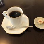 珈琲 山居 - ブレンドとお干菓子