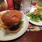 チェルシー マーケット - ...ランチ「フィッシュバーガー(1280円)」、ランチはフレンチフライ+サラダ+ドリンク付!!!