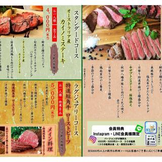 4月7日から創作料理コースがリニューアル!!
