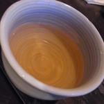 そば喜香庵 - お茶も美味しかった