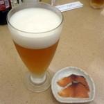 エアポート - 地ビールセット(白山わくわくビール+へしこ)780円