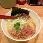 麺屋 燕 - 和風燕ラーメン(塩)