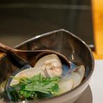 鮮魚・お食事処 山正 - 2020.3 ハマグリのスープ