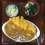 まつもと食堂 - 料理写真:カツカレー