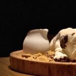 Famazugadenkafeomuretto - Dogアイス
