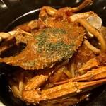 Famazugadenkafeomuretto - 渡り蟹のペスカトーレ