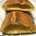 ヴィ・ド・フランス - はちみつバターパンの断面