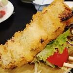 魚吉 - 名物岩井のネギフライ