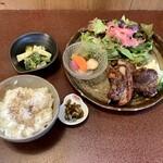 ジャム cafe 可鈴 - 【週替わりランチ 1,050円】お料理が出揃いました。