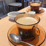 やさしいスイーツ工房 ドゥサール - ホットコーヒー