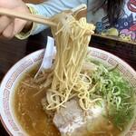 長崎亭 - 【ラーメン 600円】麺は「かため」で注文