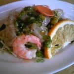 樫の木 - 料理写真:ボリュームたっぷり。新鮮魚の前菜