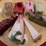 スイーツパラダイス - スイパラのケーキ達1