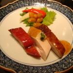 赤坂璃宮 銀座店 - 前菜