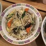 ラーメン大将 - 野菜炒め