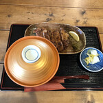 忍庵 - 特上炭火焼き親子丼別皿