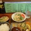 さんきち - 料理写真:ハンバーグ、海老フライ、カニクリームコロッケセット